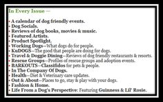 In every issue of The New Barker #dogevents #floridadogs #florida #dogbooks #dogmovies #dogreviews #dogs
