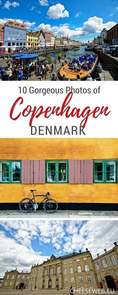 These photos of Copenhagen Denmark will have you packing your bags and give you plenty of ideas for things to do in Copenhagen.