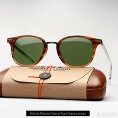 36e8898f16 Garrett Leight Venezia Sunglasses in Blonde Tortoise Fade Italian Mens  Fashion