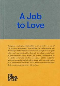 'A Job to Love' provides an innovative guide to finding a fufilling career. It explores the many myths, traps and confusions that get in our way, then shows how to develop new, effective attitudes and habits.