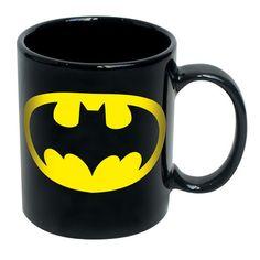 DC Comics: Batman Ceramic Mug Set Of 2, at 40% off! O wants me to get these...