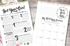 Life Planner: Beautiful & Elegant by Janice Designs on @creativemarket