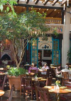 La Fonda Hotel Restaurant. Great memories with the girls! Santa Fe, NM