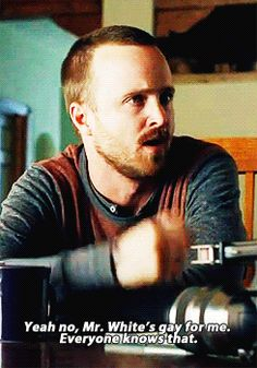 Jesse Pinkman is becoming my favourite character in a show ever.
