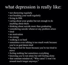 what is depression? Do you wanna know? Here is it
