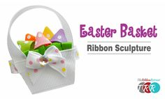 Learn how to make this CUTE Easter Basket out of ribbon! Don't forget to check out our SPECIALS! https://www.theribbonretreat.com/custom/specials.aspx Links ...