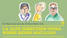 Directivos y medios sociales. Por @mjcayuela y @Julitaenjuliana