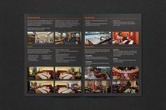 Rembrandt Hotel. Promotional leaflet. Thailand, 2013 Editorial Design, Thailand, Restaurant, School, Diner Restaurant, Restaurants, Dining, Editorial Layout