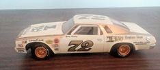 Benny Parsons Kings Row #72 1974 Chevy Malibu Stock car project built