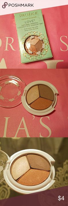 Pacifica Eyeshadow Trio Swatched only. Pacifica  Makeup Eyeshadow