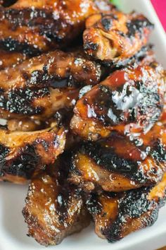 Spiced Cranberry Wings from Char-Broil's new cookbook Chicken Leg Recipes, Chicken Legs, New Cookbooks, Wing Recipes, Grilling Recipes, Food And Drink, Spices, Wings, Appetizers