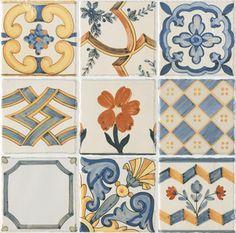 Керамическая плитка Baldocer Set Decors Alcalaten Настенная 31,6x31,6