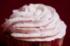 easy strawberry whipped icing
