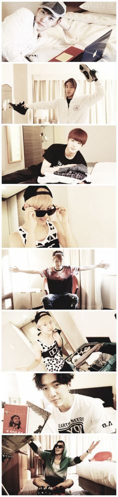 Cutie Pies B.A.P. I want these photos for posters..It'd be so fun to have on my wall. ^ That may have sounded creepy Mianhae