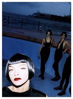 Vogue Italia March 2004 - Maria Carla Boscono by Helmut Newton Helmut Newton, Paolo Roversi, Peter Lindbergh, Maria Carla, Newton Photo, Magazine Vogue, Jean Marie, Deneuve, Fashion Photography Inspiration