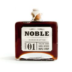 Noble Handcrafted: Bourbon Barrel Maple Syrup