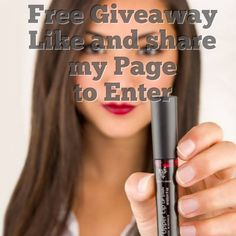 Free Giveaway: Younique lipstain (cranberry)   Enter Here: http://www.giveawaytab.com/mob.php?pageid=561848243944184