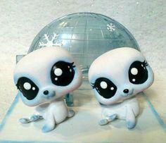 Sam & Sally Seal * OOAK Custom Littlest Pet Shop