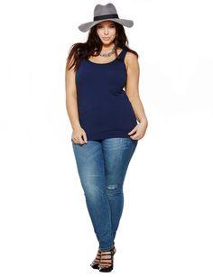 Plus Size Tops: Tunics, Shirts, Tees & Plus Size Jeans, Plus Size Tops, Shirt Blouses, Tee Shirts, Tees, Curvy Fashion, Plus Size Fashion, Look Retro, Tunics