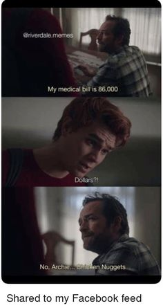 Top 20 Riverdale Memes – You Must See! – MemeVilla The post Top 20 Riverdale Memes – You Must See appeared first on Riverdale Memes. Riverdale Quotes, Riverdale Funny, Bughead Riverdale, Stupid Memes, Stupid Funny, Memes Humor, Funny Relatable Memes, Funny Jokes, Riverdale Betty And Jughead