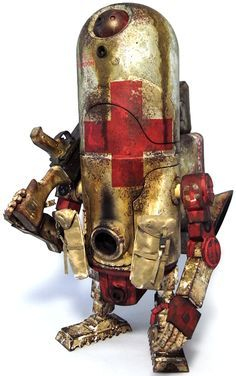 """1G Medic"" | World War Robot (WWR) Series | Artist: Ashley Wood"