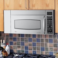 Ge Profile Series 36 1 8 Cu Ft Microhood Combination Microwave Oven Stainless