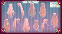 Hair pack 04 by Shaka-yo