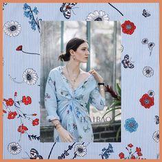 Width 140cm Rural wind stripe butterfly print fashion plush pure cotton fabric for dress tissus au meter cheap fabrics DIY telas