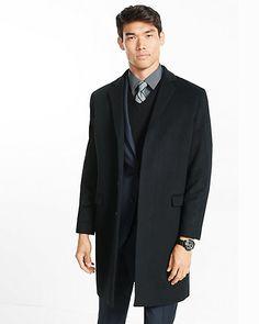 wool blend topcoat