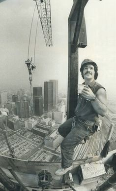 'It was the world's tallest freestanding building for more than 30 years': I helped build Toronto's CN Tower – Brewing Equipment Toronto Cn Tower, Cheap Coffee Maker, High Iron, Brewing Equipment, Canadian History, Asian History, Construction, Culture, Coffee Drinks