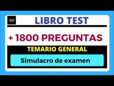 TEST 2 LEY 39/2015 de Procedimiento Administrativo Común - TITULO I Test 1 - YouTube Cultura General, Ideas, Nursing Assistant, Law, Libros, Thoughts