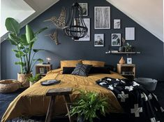 Bedroom Inspo, Home Bedroom, Bedroom Decor, Luxurious Bedrooms, Home Look, New Room, Interior Design, House, Furniture