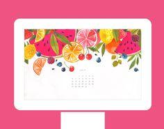 15 Colorful Summer Desktop Wallpapers via Brit + Co.
