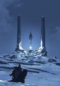 Dark, Sci-Fi and Fantasy Digital Illustrations By Ömer Tunç