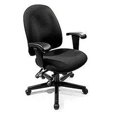Soft Flooring, Ergonomic Office Chair, Home Office Chairs, Desk Chair, Soft Fabrics, Indigo, Larger, Sweet Home, Medium