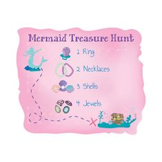 Activity for Mermaid party Mermaid Theme Birthday, Little Mermaid Birthday, Little Mermaid Parties, Birthday Party Games, 5th Birthday, Birthday Ideas, 7th Birthday Party For Girls Themes, Mermaid Party Games, Bridal Party Games