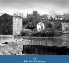 Spital Dam, 1939. Local History, Family History, Liverpool Docks, Old Photos, Past, Nostalgia, Old Things, England, Exterior