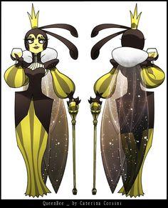 Queen Bee by SuperCaterina on DeviantArt