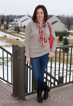 Day 12 of 28 Days of Winter Fashion for Moms