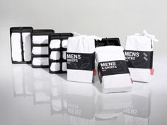 Packaging of the World: Creative Package Design Archive and Gallery: Hanes Mens Underwear (Student Work)