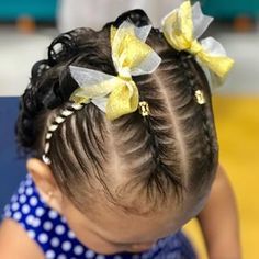 Baby Girl Hairstyles, Cute Hairstyles, Braided Hairstyles, Girl Hair Dos, Aloe Vera Skin Care, Hair Due, Hair Inspo, Hair Trends, New Hair