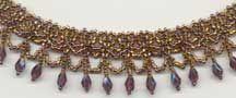 Crystal Drop Necklace Pattern
