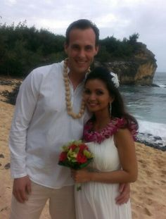 Suzanna & Damon got married today, Feb. 15th