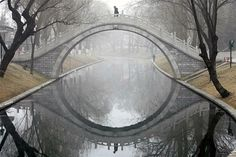 Moon Bridge, Beijing, China