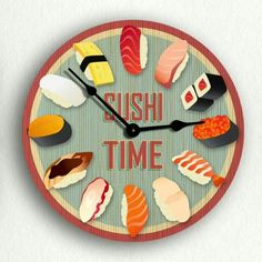 It's always Sushi Time!