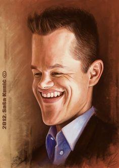 Matt Damon by SigmaK on deviantART