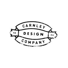 Carnley Design Co. This will be used as an alternative logo for my personal work! #logo #branding #type #typography #badge #union #texture #goodtype #thedailytype #calligritype #freelance