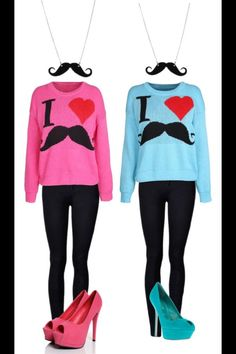 """""""bffs matching outfits"""" by hayley-horan ❤ need Twin Outfits, Cute Teen Outfits, Matching Outfits, Pretty Outfits, Best Friend Outfits, Best Friend Shirts, Cute Fashion, Fashion Outfits, Bff Shirts"""