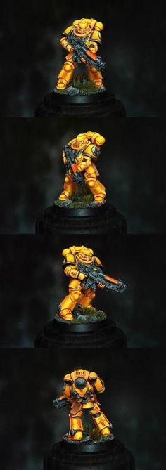 Imperial Fists Primaris Space Marine Hellblaster