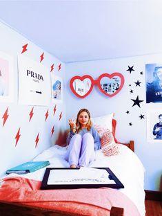 32 Cozy College Room Ideas for Girls - Bedroom Decor Ideas - Dorm Room İdeas My New Room, My Room, Girl Room, Girls Bedroom, Bedroom Decor, Bedroom Ideas, Bedrooms, Pop Art Bedroom, Room Art